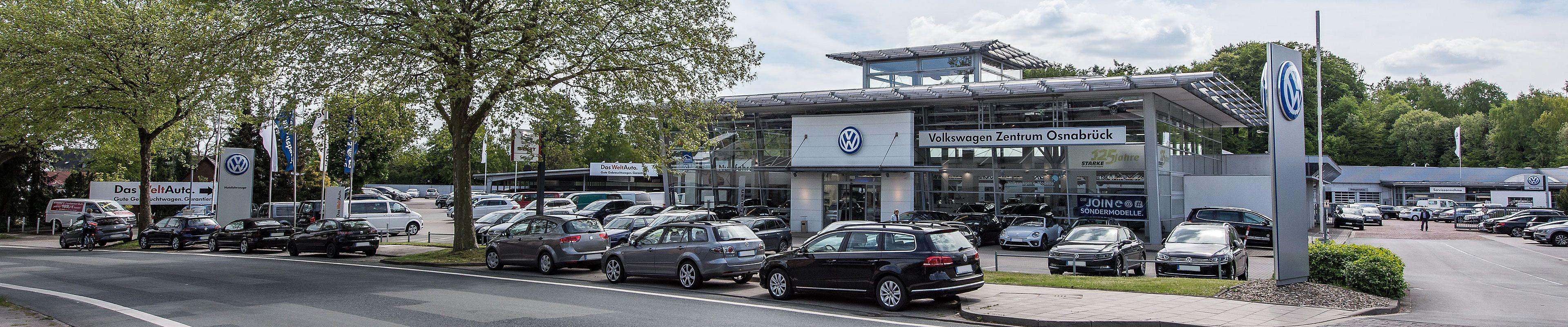 Volkswagen Zentrum Osnabrück Wir freuen uns auf Ihren Besuch