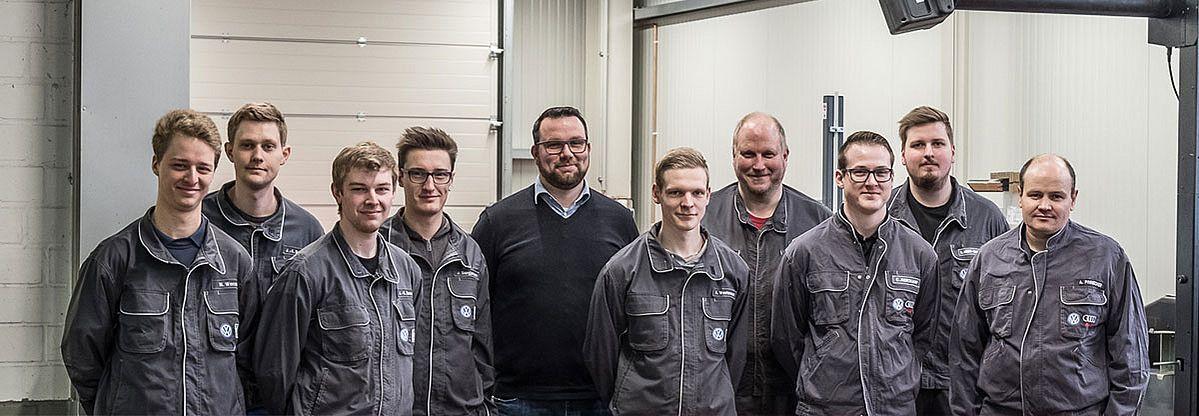 Audi_VW_Lotte_Team_Werkstatt